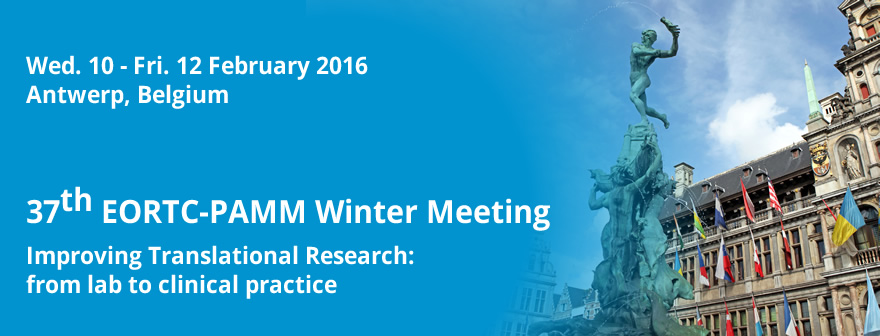 37th EORTC-PAMM Winter Meeting