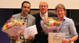 Our PhD Amir Avan won the Chrijs Meijer prize as the best VUmc-AMC PhD student in 2013