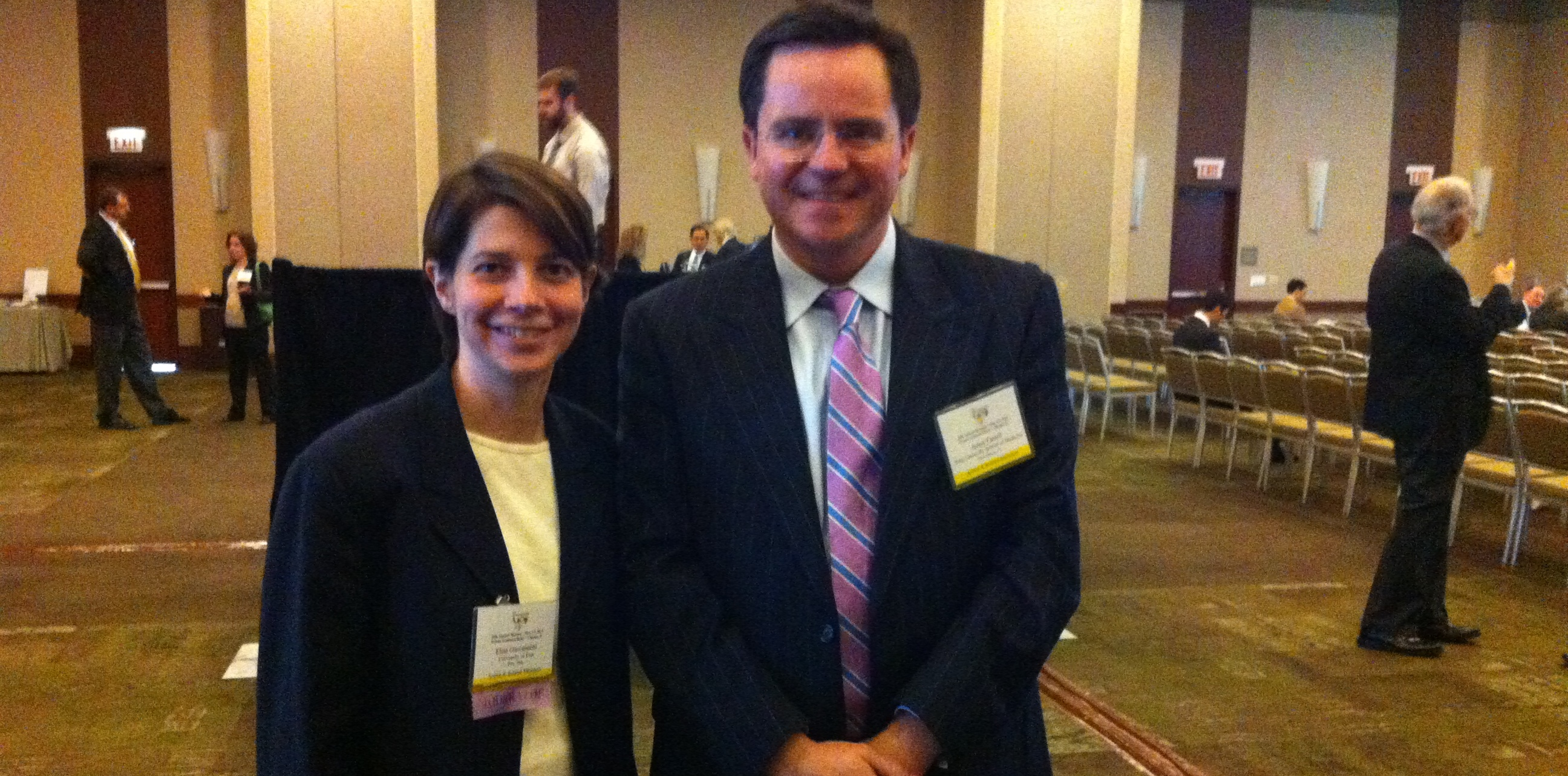 Dr. Giovannetti and Prof. Farrell at Pancreas Club Meeting 2014