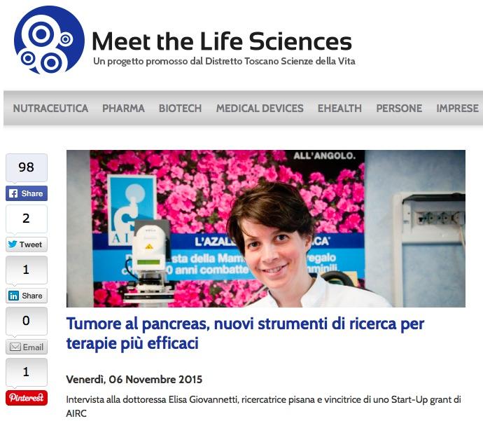 Intervista a Meet the Life Science