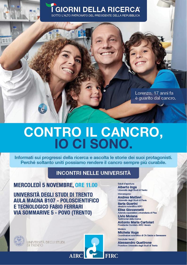 I Giorni Della Ricerca 2014 Incontri Nelle Universita Cancer Pharmacology Lab