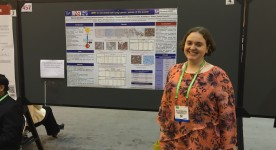 Nele Van Der Steen at AACR 2016 New Orleans