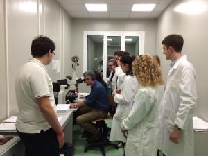 Scuola in visita al nostro laboratorio