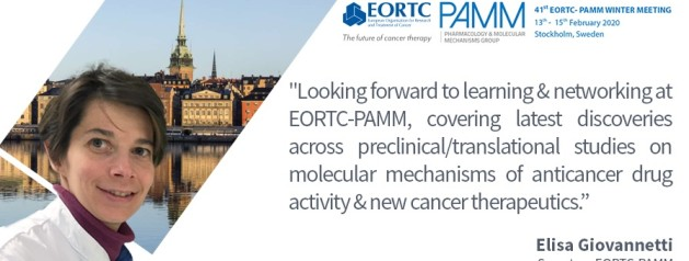 41st EORTC –PAMM winter meeting: February 13th-15th, 2020 in Stockholm