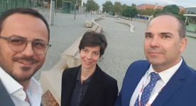 Meeting CROH Editors with Prof. Rolfo& Dr. Malapelle, Barcelona 2019