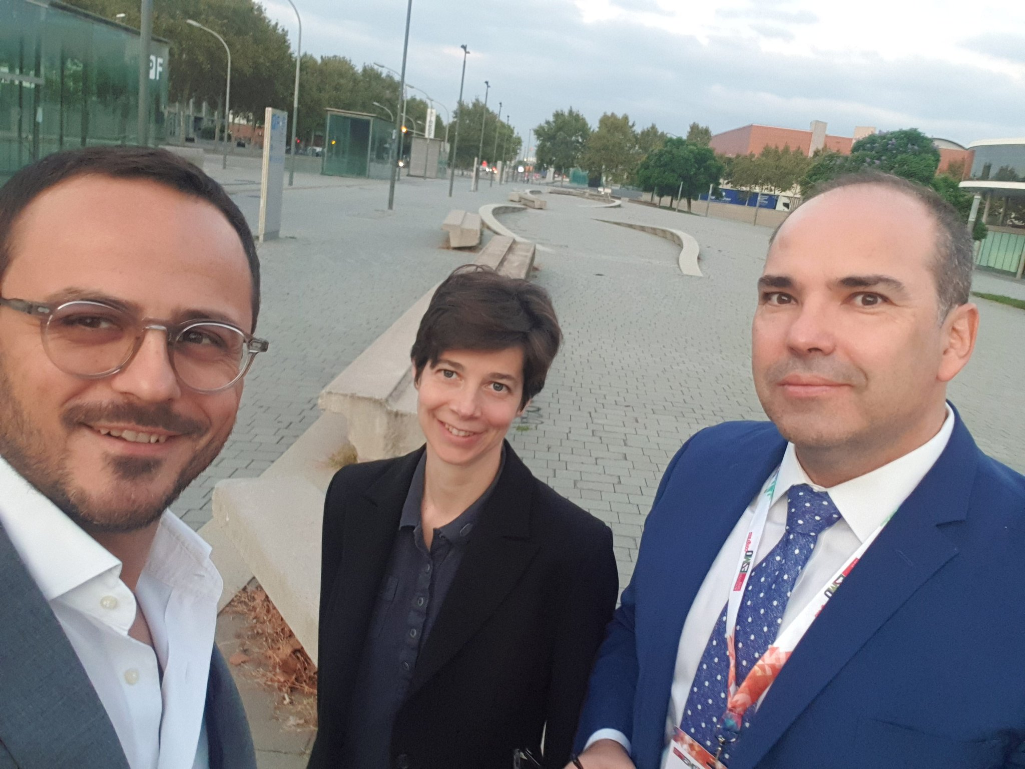 Meeting CROH Editors with Prof. Rolfo& Dr. Malapelle - Barcelona, October 2019